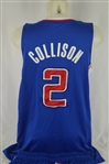 Darren Collison 2013-14 LA Clippers Professional Model Uniform w/Medium Use