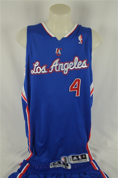 J.J. Redick 2013-14 LA Clippers Professional Model Uniform w/Medium Use