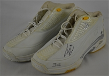 Shaquille ONeal Los Angeles Lakers Professional Model Shoes w/Heavy Use