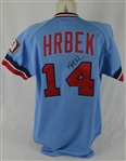 Kent Hrbek 1985 Minnesota Twins Professional Model Jersey w/Heavy Use
