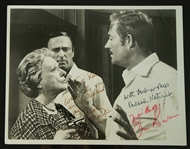 "Vintage Original ""The Maltese Bippy"" Autographed Wire Photograph  w/Dick Martin"