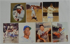 Collection of 8 Autographed 8x10 Photographs