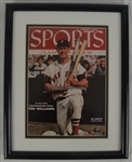 Ted Williams Autographed & Framed Sports Illustrated UDA