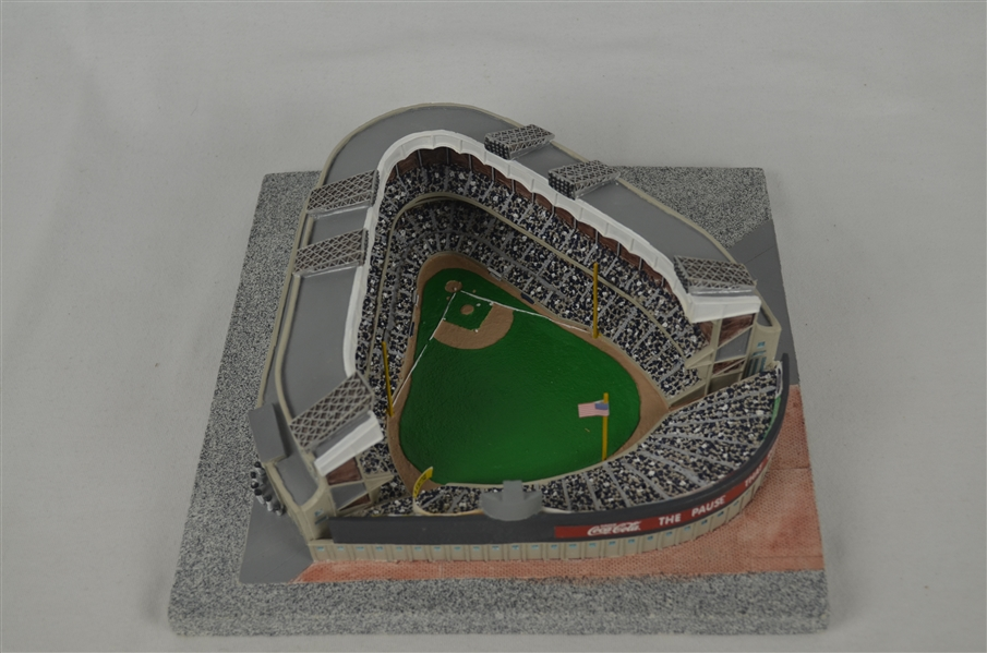 New York Yankees Limited Edition House That Ruth Built Stadium w/Display
