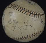 Cy Young c. 1909 Autographed Ban Johnson Baseball