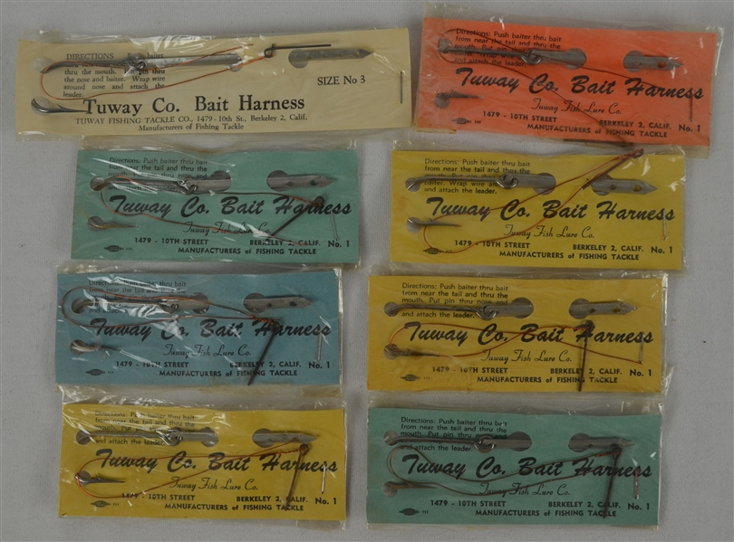 Vintage Lot of 1940's Unopened Fishing Lures