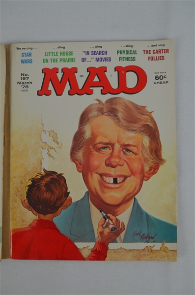 Mad Magazines June & March 1978