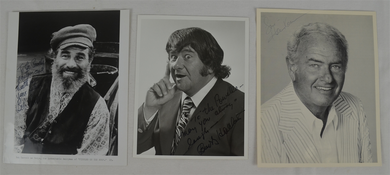 Collection of 13 Autographed Entertainment Photos