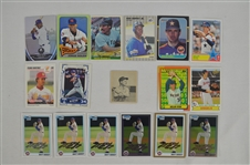 Collection of 17 Ungraded Baseball Cards