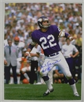 Paul Krause & Anthony Barr Autographed 16x20 Vikings Photos