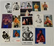 Boxing Collection of Autographed Cards & Photos