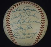 New York Giants 1955 Team Signed Baseball