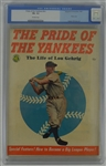 """The Life of Lou Gehrig"" Pride of the Yankees 1949 Magazine CGC 5.5"