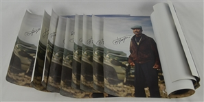 Joe Frazier Collection of 10 Autographed Posters
