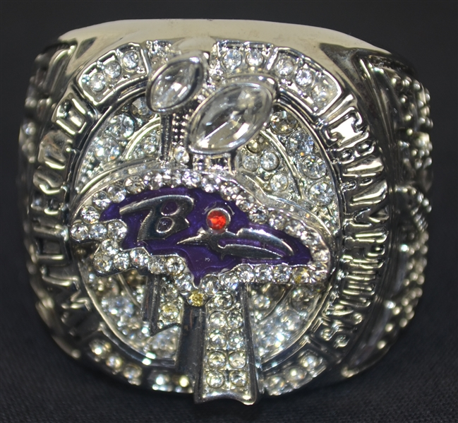 Joe Flacco Baltimore Ravens Super Bowl XLVII Replica Ring
