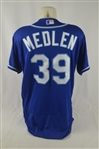 Kris Medlen 2016 Kansas City Royals Professional Model Jersey w/Medium Use