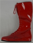 Rick Flair Autographed Wrestling Boot