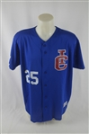 Calgary Cannons #25 Professional Model Jersey w/Medium Use