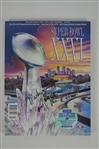 SB XXVI Program signed by Mark Rypien