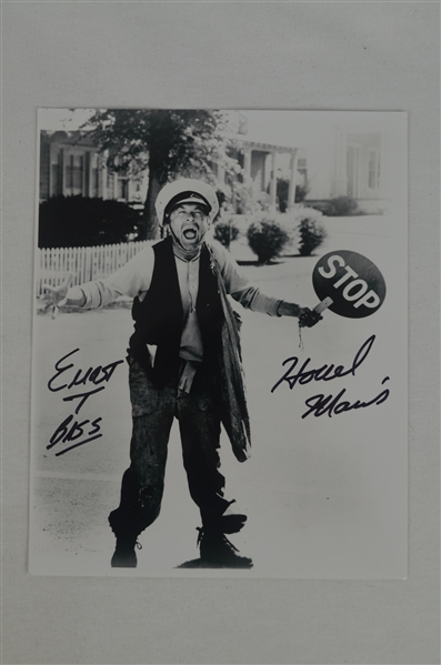 Howard Morris Howard T Bass Autographed 8x10 Photo