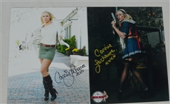 Carrie La Chance Lot of 4 Autographed 8x10 Photos