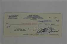 Blake Edwards 1966 Signed Check