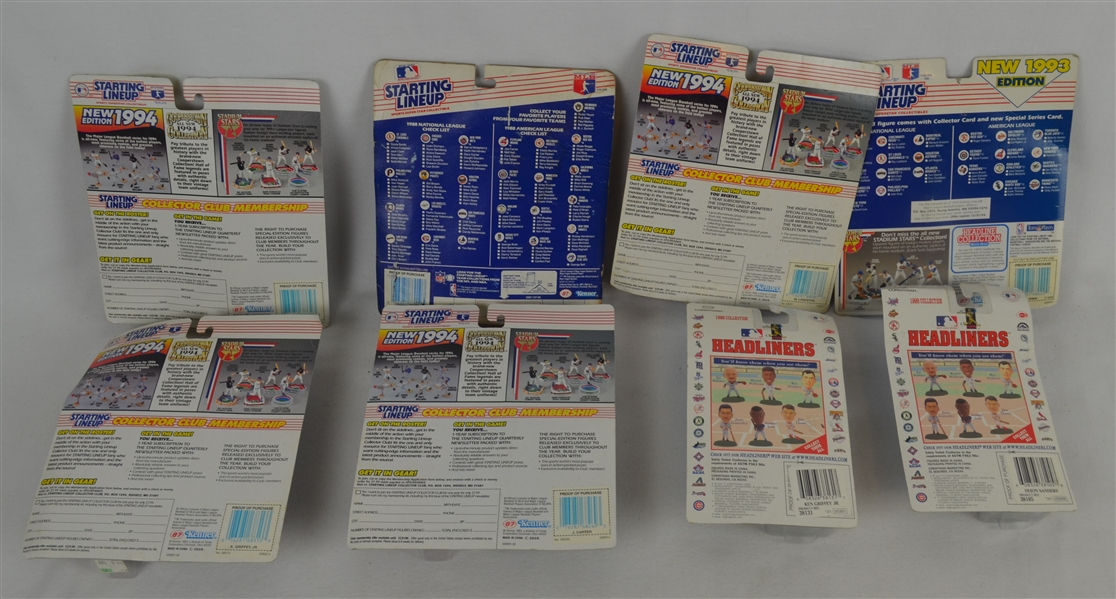 Collection of 6 Sealed Starting Line Ups
