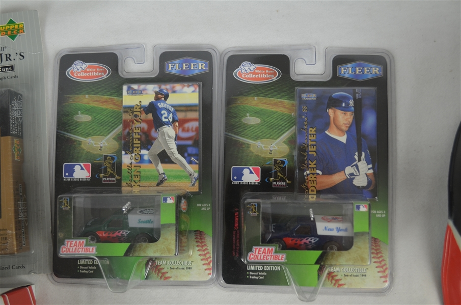 Baseball Collection w/Die Cast Cars & Mini Figurines