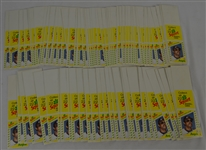 Vintage 1982 Lot of 2 Squirt Baseball Card Sets
