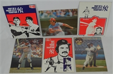 Collection of Baseball Advertisements w/Mickey Mantle & Roger Maris