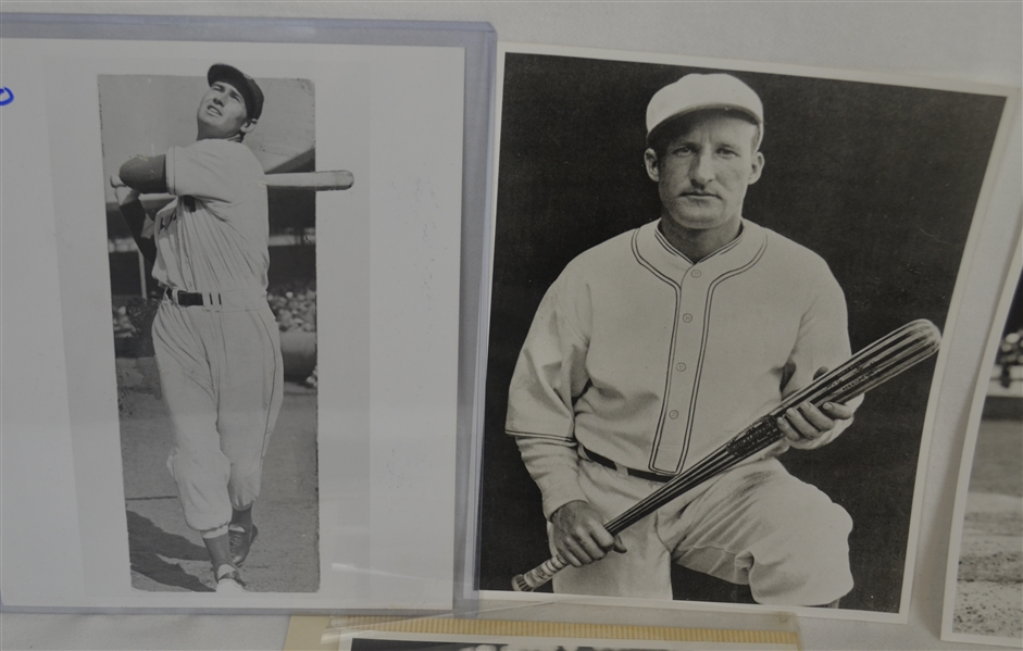Vintage Collection of Baseball Photos