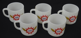 Seattle Pilots 1969 Collection of 5 Coffee Mugs w/Original Box