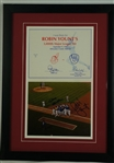Robin Yount Bud Selig & Jim Gantner Signed 3,000th Hit Display