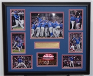 2016 Cubs WORLD SERIES CHAMPION display