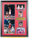 Michael Jordan & Scottie Pippen Topps Archvies ROOKIE Card display