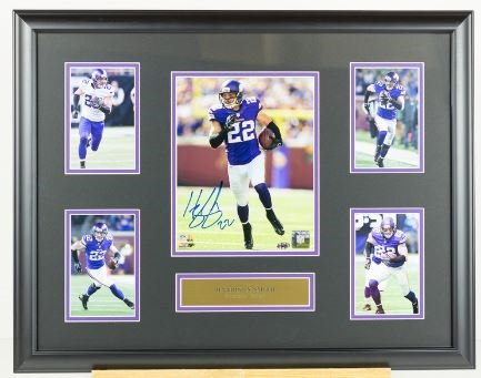 Harrison Smith Signed photo display