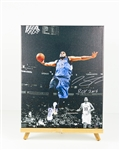 Karl-Anthony Towns Signed Canvas Display