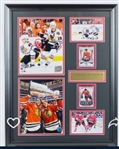 Patrick Kane & Jonathan Toews Rookie Card display