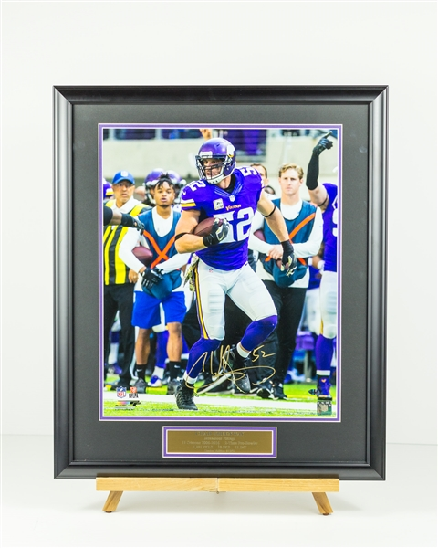 Chad Greenway LIMITED Signed display  Only 52 of these were Signed