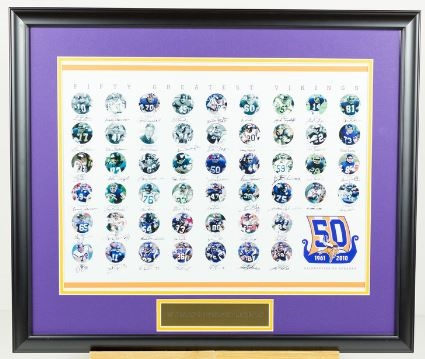 Vikings top 50 Replica Displayy