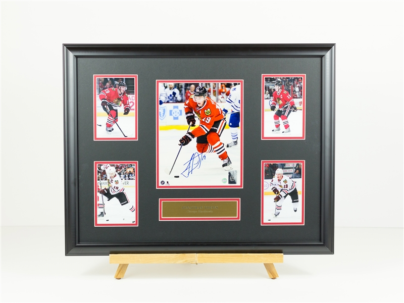 Jonathan Toews Signed display
