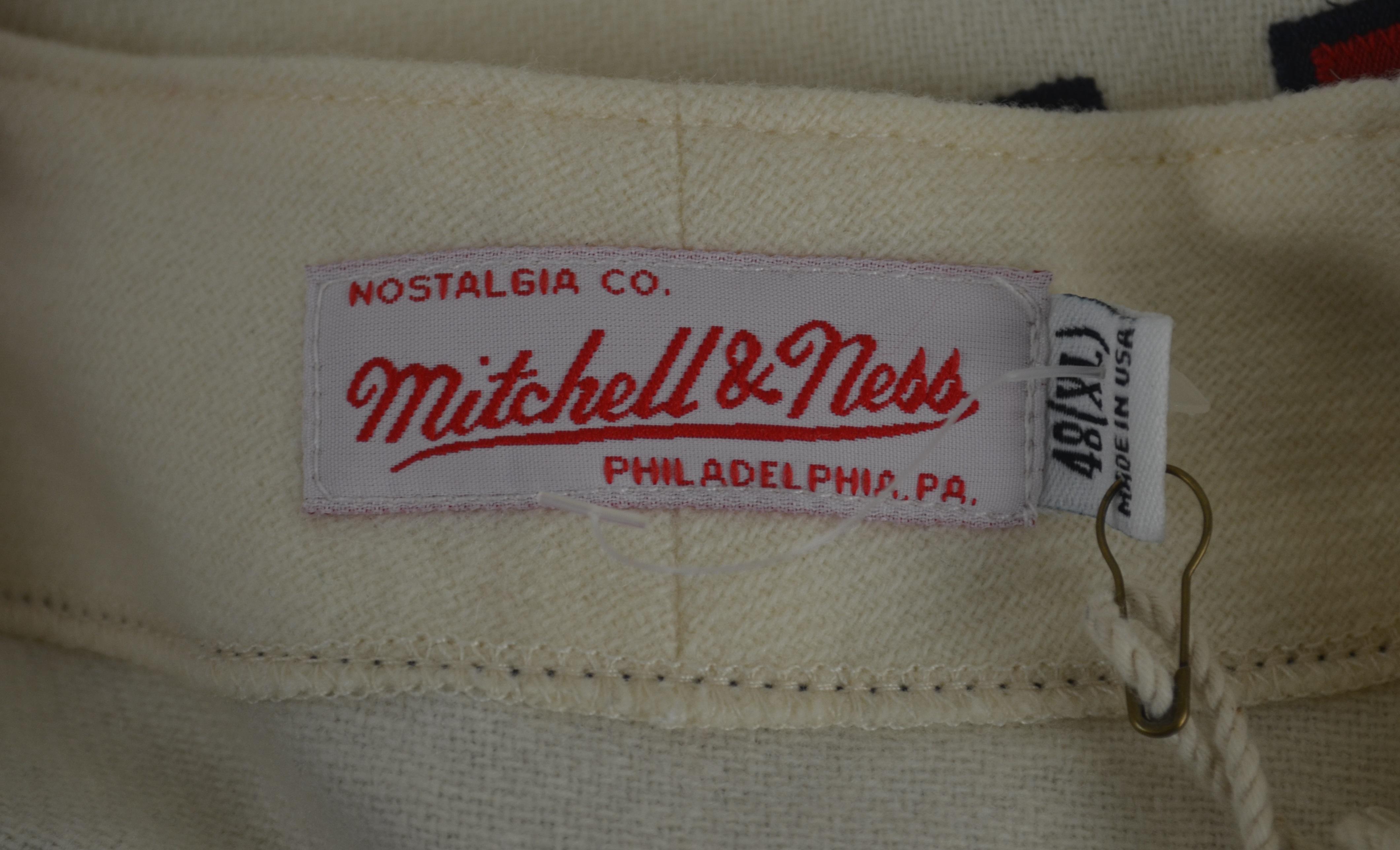 best service 6ae92 83b7c Lot Detail - Hank Aaron 1963 Milwaukee Braves Mitchell ...