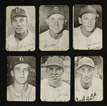 Vintage 1947 Bond Bread Brooklyn Dodgers Cards w/Reese & Hodges