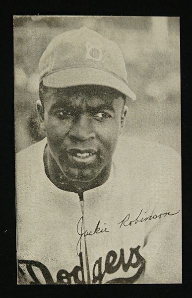 Jackie Robinson 1947 Bond Bread Rookie Card