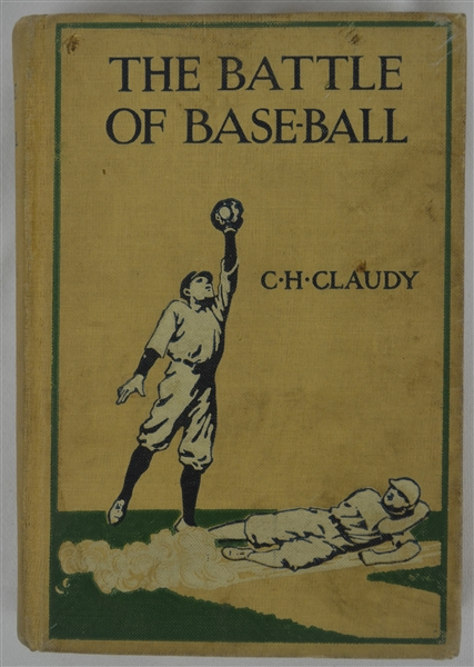 Original 1912 Hard Cover Copy of The Battle of Baseball
