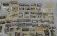Vintage 1904 St. Louis Worlds Fair Collection w/Post Cards Poster Stamps Covers & More