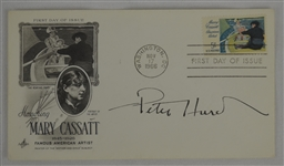 Peter Hurd Signed 1966 First Day Cover