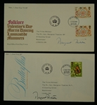 Margaret Thatcher Lot of 2 Signed 1981 First Day Covers