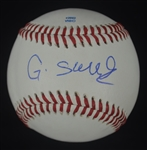 Gary Sanchez New York Yankees Autographed Baseball