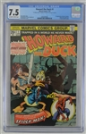 Howard the Duck 1976 Marvel Comic Book Isssue #1 CGC Graded 7.5